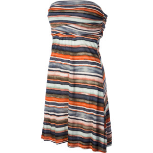 Painted Stripe Dress - Women's