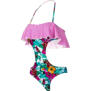 Parrot Jungle South Beach Monokini One-piece Swim Suit - Women's