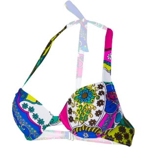 All Bright Now Live It Up Bra Bikini Top - Women's