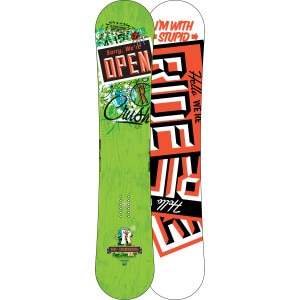 Ride Crush Snowboard - Wide