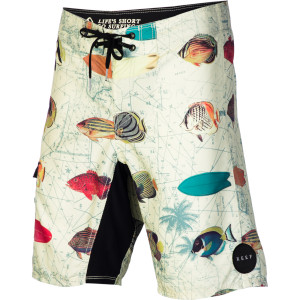 Fish Chart Board Short - Men's