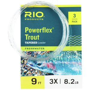 Powerflex Trout Leader - 3 Pack