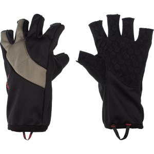 Windproof Fingerless Fleece Glove