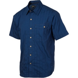 Solid Jasper Shirt - Short-Sleeve - Men's