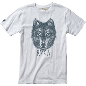 RVCA Wolf Head Recycled T-Shirt - Short-Sleeve - Men's