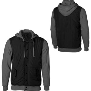 RVCA Puffer Fleece II Hooded Jacket - Men's - 2011