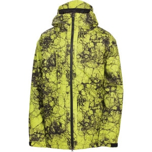 Mannual Cracked Insulated Jacket - Men's