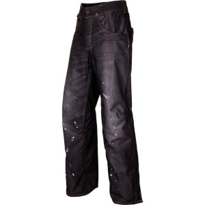 LTD Destructed Denim Insulated Pant - Men's