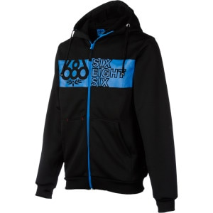 686 Groove Bonded Tech Fleece Full-Zip Hoodie - Men's - 2012