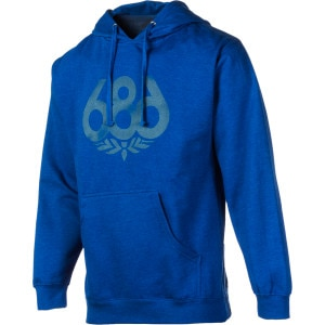 Wreath Heathered Pullover Hoodie - Men's