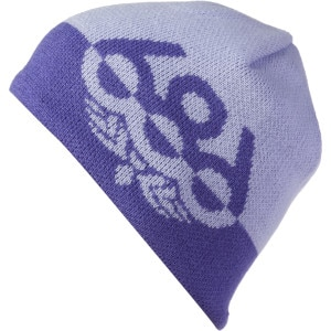 Wreath Fleece Beanie - Girls'
