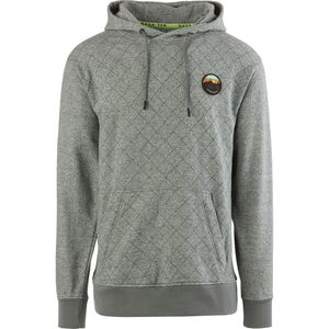 Quilted Pullover Hoodie - Men's