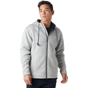 Sherpa Lined Sweater Fleece Jacket - Men's