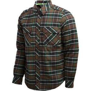 Stepchild Snowboards Philly Quilted Flannel Shirt - Long-Sleeve - Men's - 2011
