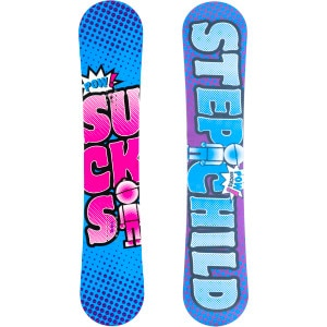 Stepchild Snowboards Powder Sucks Snowboard