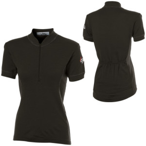 Merino Cycling Jersey Short-Sleeve - Women's
