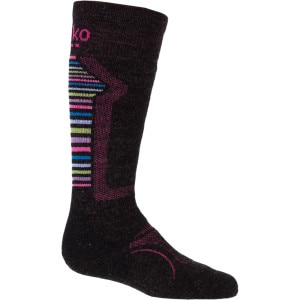 M3RINO.XC Medium Ski Sock - Girls'