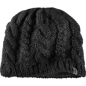 Fuzzy Cable Beanie - Women's