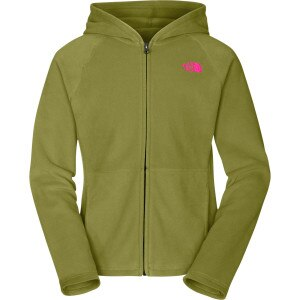 Glacier Full-Zip Hooded Fleece Jacket - Girls'