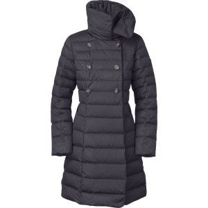 Paulette Down Peacoat - Women's