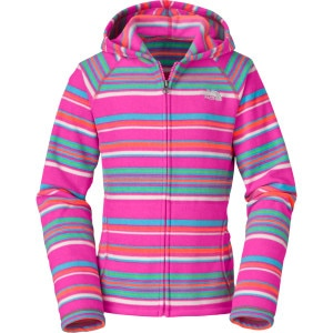 Glacier Striped Full-Zip Hoodie - Girls'