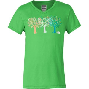 Shady Tree Reaxion V-Neck T-Shirt - Short-Sleeve - Girls'