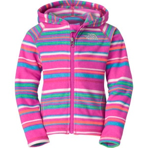 Striped Glacier Full-Zip Hoodie - Toddler Girls'