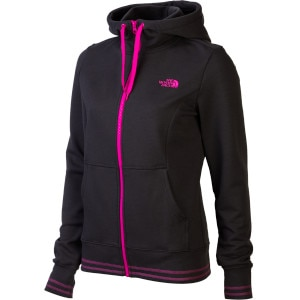 Logo Stretch Full-Zip Hoodie - Women's