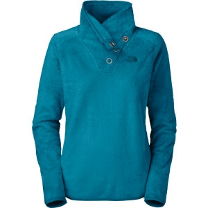 Mossbud Snap-Neck Fleece Pullover - Women's