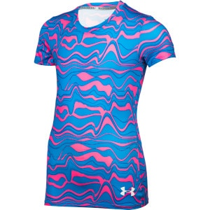HeatGear Sonic Printed T-Shirt - Short-Sleeve - Girls'