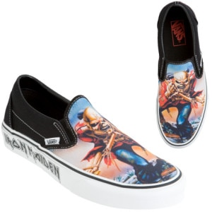 Vans Classic Slip-On Iron Maiden Trooper Shoe - Men's - 2008