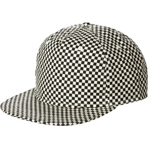 Checkerboard Snapback Hat