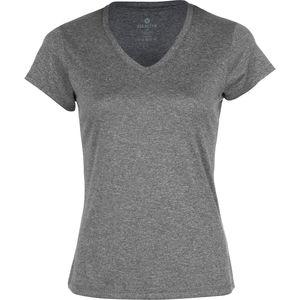 Velocity Missy Heathered V-Neck Shirt - Short-Sleeve - Women's
