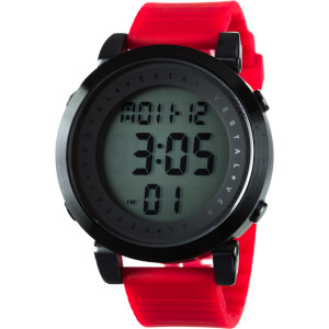 Digital Doppler Rubber Watch