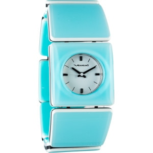 Rosewood Slim Acetate Watch - Women's