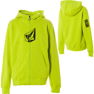 Volcom Cranium Hydro Full-Zip Hooded Sweatshirt - Boys'