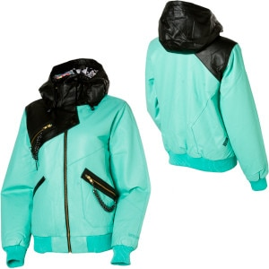 Volcom Vitra Leather Down Jacket - Women's - 2010