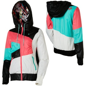 Volcom Hans Insulated Taffeta Full-Zip Hooded Sweatshirt - Women's