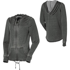 Volcom Snap To It Full-Zip Hooded Sweatshirt - Women's - 2011