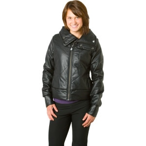 Volcom Augustin Faux Leather Jacket - Women's - 2011