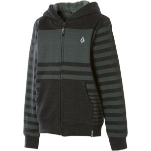 Volcom Getta Sherpa Full-Zip Hooded Sweatshirt - Boys' - 2011