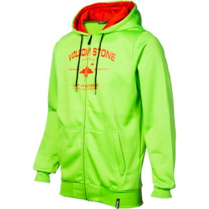 Volcom Founded Hydro Fleece Full-Zip Hoodie - Men's