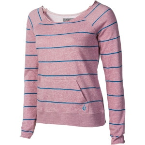 Volcom Moclov Striped Crew Sweatshirt - Women's