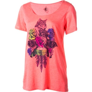 Wolves Of A Feather Boyfriend Crew - Short-Sleeve - Women's