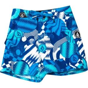 Volcom Maguro Circle Board Short - Toddler Boys'
