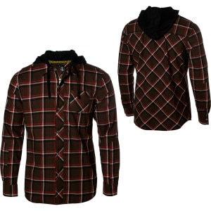 VonZipper Criminal Hooded Flannel Shirt - Men's - 2010