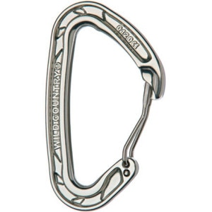 Helium Clean Wire Carabiner