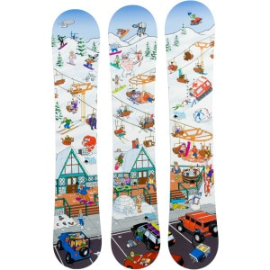 Weekend Snowboards Lodge Series Snowboard - Men's
