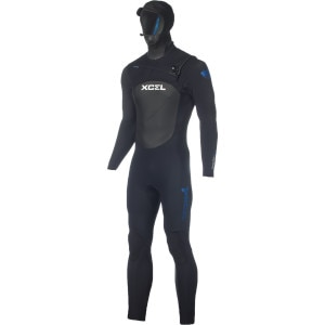 XCEL Hawaii Drylock Hooded 4/3 Wetsuit - Men's