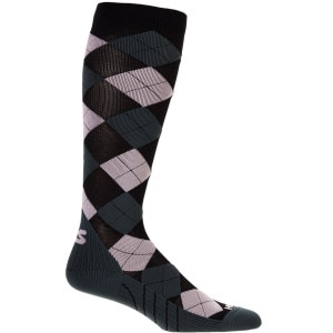 Argyle Compression Sock